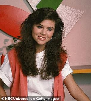 High school: Tiffani pictured in season 1