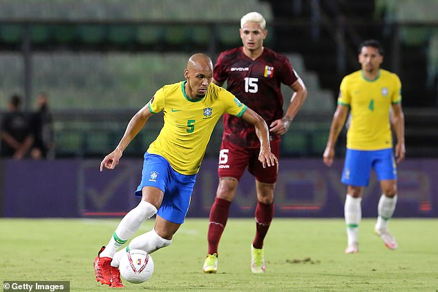 Fabinho is on international duty with Brazil who play Uruguay 35 hours before Liverpool kick-off at Watford
