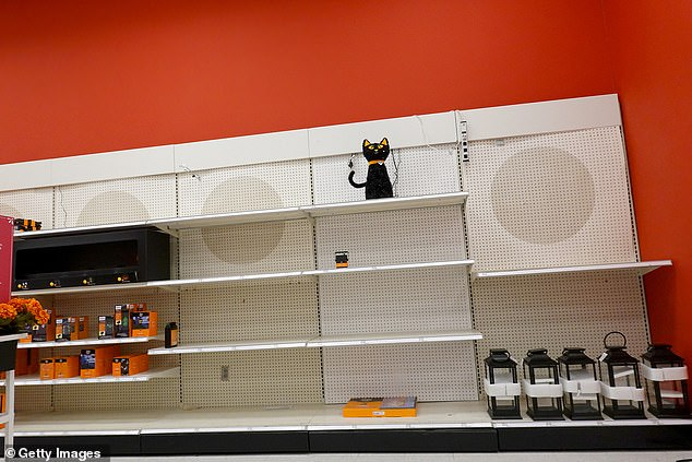 , Supply chain crisis hits Halloween in US as shelves are stripped bare leaving shoppers scrambling, The Today News USA
