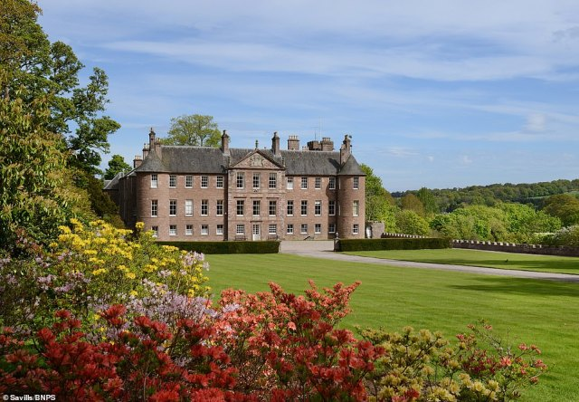 Evelyn Channing, of estate agents Savills, said: 'The sale of Brechin Castle is attracting interest from all over the globe, particularly from the US where buyers place huge value on Scottish heritage