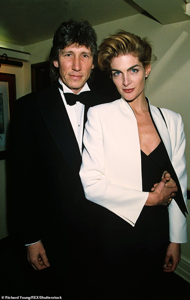 Past love:In 1993, he married Priscilla Phillips. They had one son together, Jack, 18, before divorcing in 200