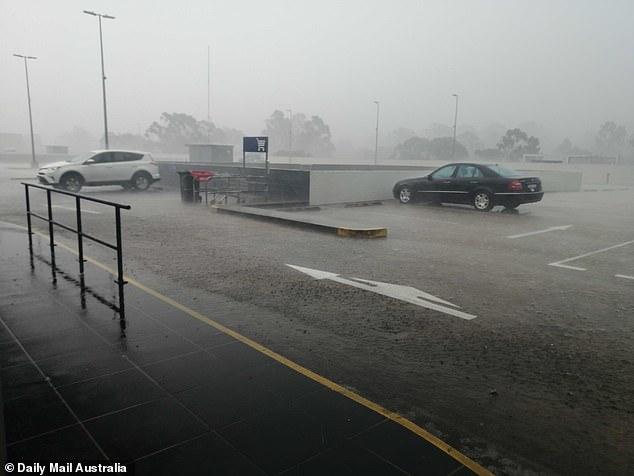 Road conditions were perilous across Sydney during Thursday's superstorm