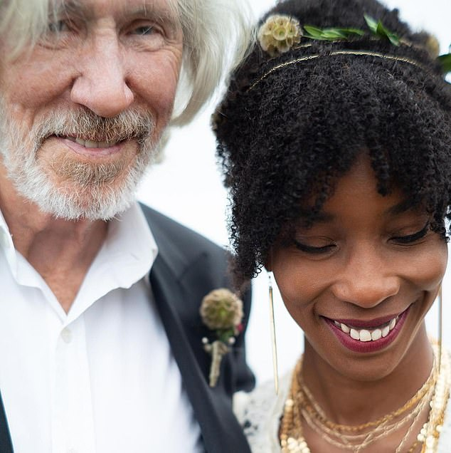 Gorgeous couple: Roger and Kamilla were a beautiful couple on their big day