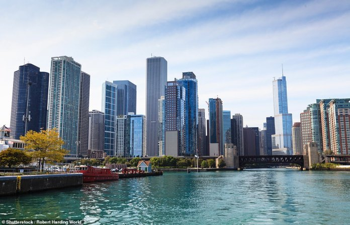 A century-and-a-half later, the Windy City is a bustling, sprawling metropolis with a population of more than 2.7 million - the third highest city population in the United States behind New York and Los Angeles