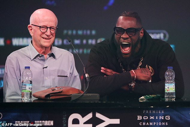Fury also took aim at Wilder's manager Shelly Finkel in the immediate aftermath of the fight