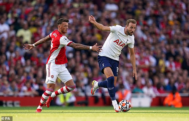 Tottenham and Arsenal both had much weaker records of 40 per cent when returning