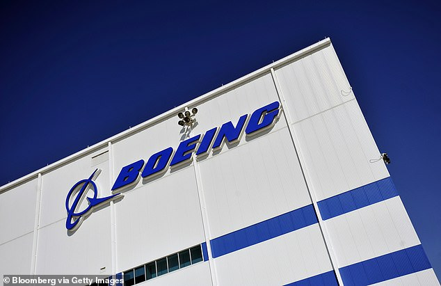 Boeing said the titanium defect 'does not present an immediate safety of flight concern for the active in-service fleet'