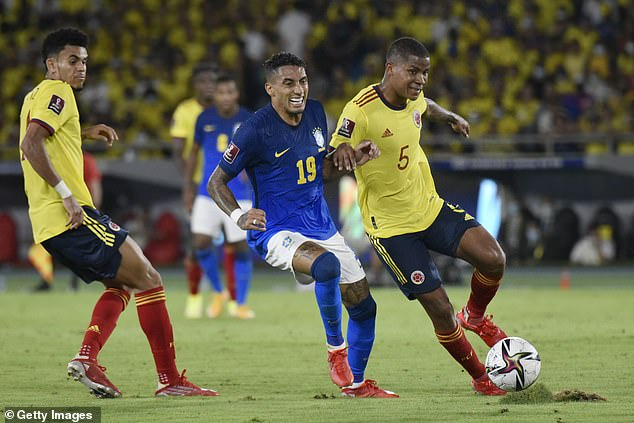 The 24-year-old could make his first start for Brazil in the early hours of Friday morning