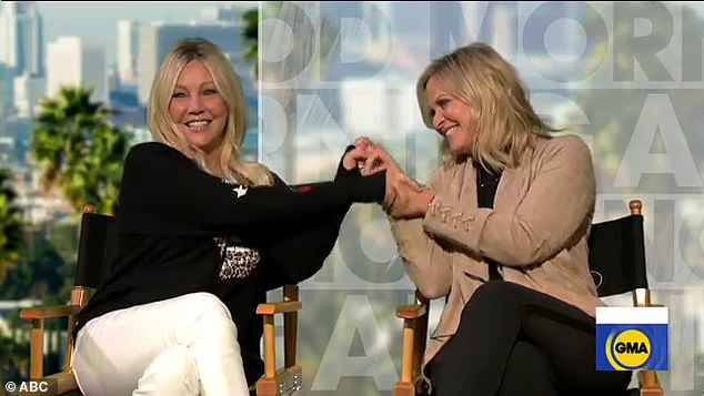 """Everyone loves it, """"I mean, I've been a lifelong Heather Locklear fan, so I was thrilled.  Then, when I met Heather, I was even more elated.  Heather took the time to really get to know me. [She] put his heart into this movie and I will be eternally grateful to him.  She is a wonderful woman '"""