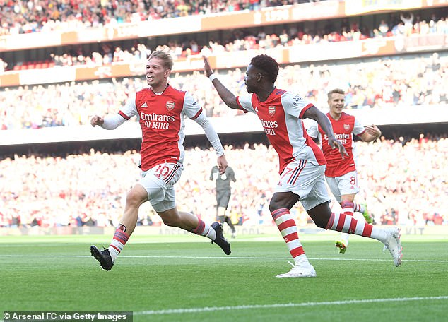 The Gunners secured three league wins and a draw on bounce prior to the international break