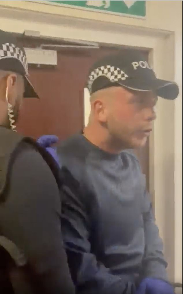 The two men were initially allowed in before the residents became suspicious and asked to see their identification which they could not produce