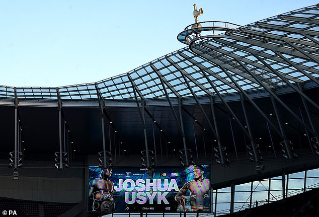 The £1.2billion stadium is in-demand and hosted Anthony Joshua's fight with Oleksandr Usyk