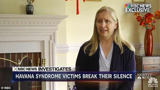 Onefur, sobbing as she spoke and recalling the fact she can now only work two hours a day from home due to doctor-diagnosed brain damage, said she was washing dishes one night in March 2017 at her home in Havana when she suddenly found herself overcome with pain