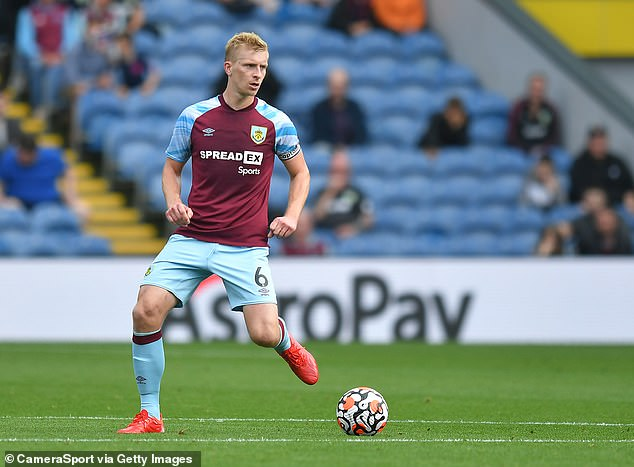 After testing positive for Covid-19, Ben Mee has been ruled out of action for Burnley