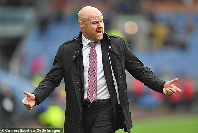 Manager Sean Dyche revealed that Collins was 'fine' and was just an isolated case at the club