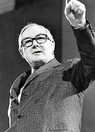 Embattled: PM James Callaghan