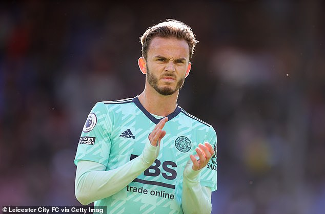 Once a linchpin of Rodgers' team, James Maddison (above) now struggles to get into it