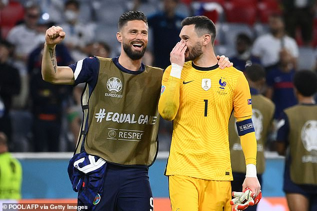 Now on the outside internationally, Giroud has not given up on a recall but is also phlegmatic