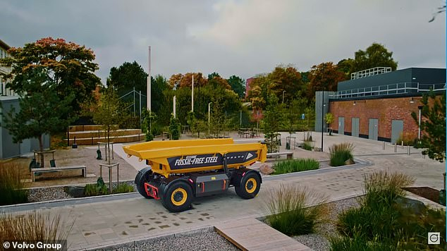 , Volvo unveils world's first load carrier made of fossil fuel-free steel, The Today News USA