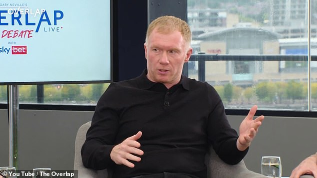 Paul Scholes believes United should stick with Solskjaer until at least the end of the season