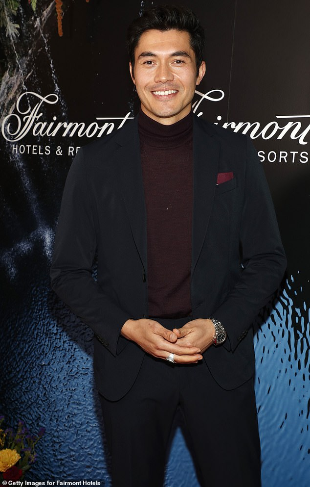 In the offing:His next movies include an adaptation of Jane Austen's Persuasion in which he will star alongside Dakota Johnson, Suki Waterhouse and Richard E. Grant