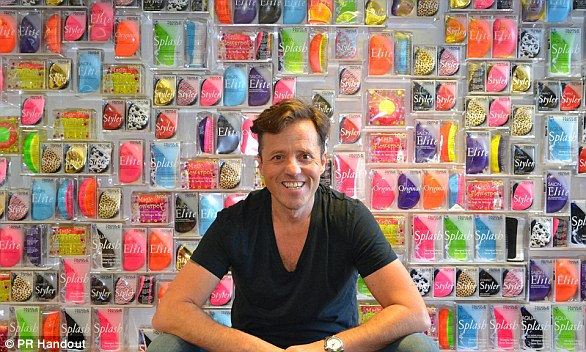 He was famously turned down in the Dragons' Den, but Shaun Pulfrey continues to have the last laugh by raking in millions from his Tangle Teezer hairbrush