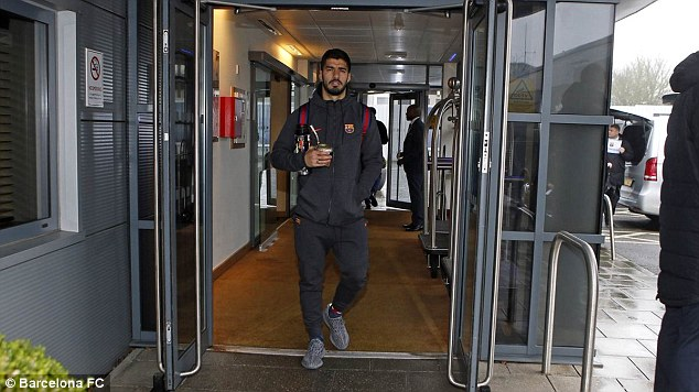 Luis Suarez and his Barcelona colleagues come up against Chelsea on Tuesday night