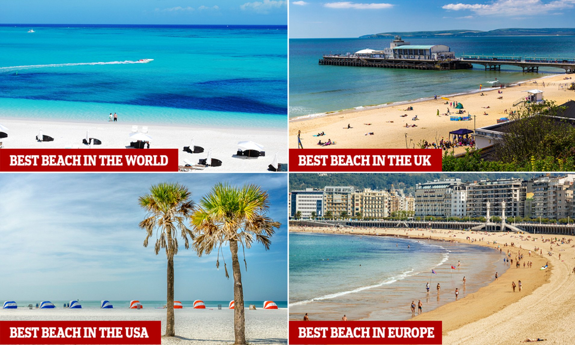 Tripadvisor Names The Best Beaches In The World For 2018 Daily Mail Online