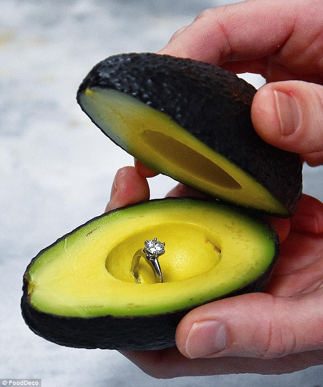 Avocado Proposals Are The Latest Engagement Trend  Daily