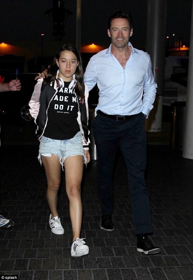 Jackman Hugh Ava Daughter