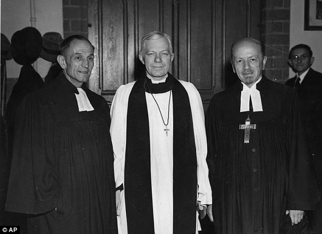 Crucially, the £100 million hearing will also look at the findings of the Lord Carlile Report, published in December, which criticised the Church for a ¿rush to judgement¿ and of failing to give proper consideration to the rights of Bishop Bell (above, centre)