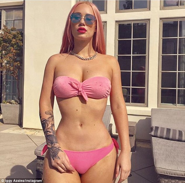 Is it real? For years, Azalea has shut down rumors that her butt is in any way enhanced.'No I don't have bum implants!' she told Stav, Abby & Matt on the radio last July