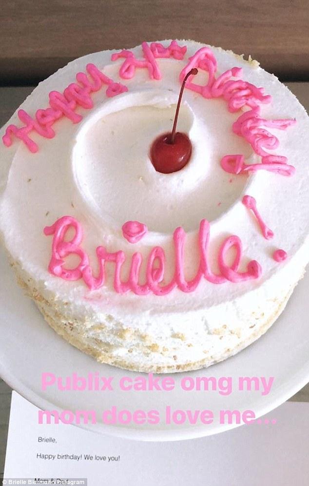 Brielle Biermann Celebrates Her 21st Birthday In Miami