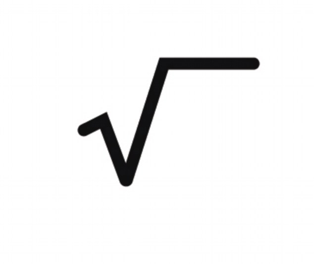 Square root symbol at Louisiana school mistaken for gun