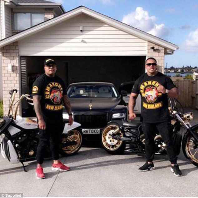 The Comanchero outlaw motorcycle gang is the latest Australian club to infiltrate New Zealand