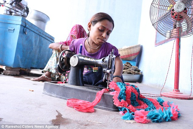With time and no treatment Miss Kumari, who is a tailor and is known for stitching dresses, has accepted herself and doesn't wish to see any more doctors
