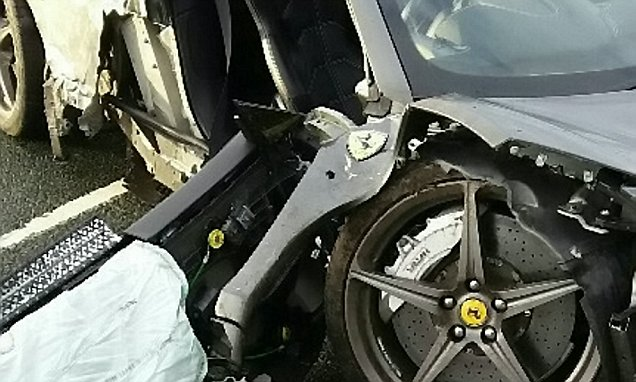 Man Writes Off Uncles Ferrari After Driving While High