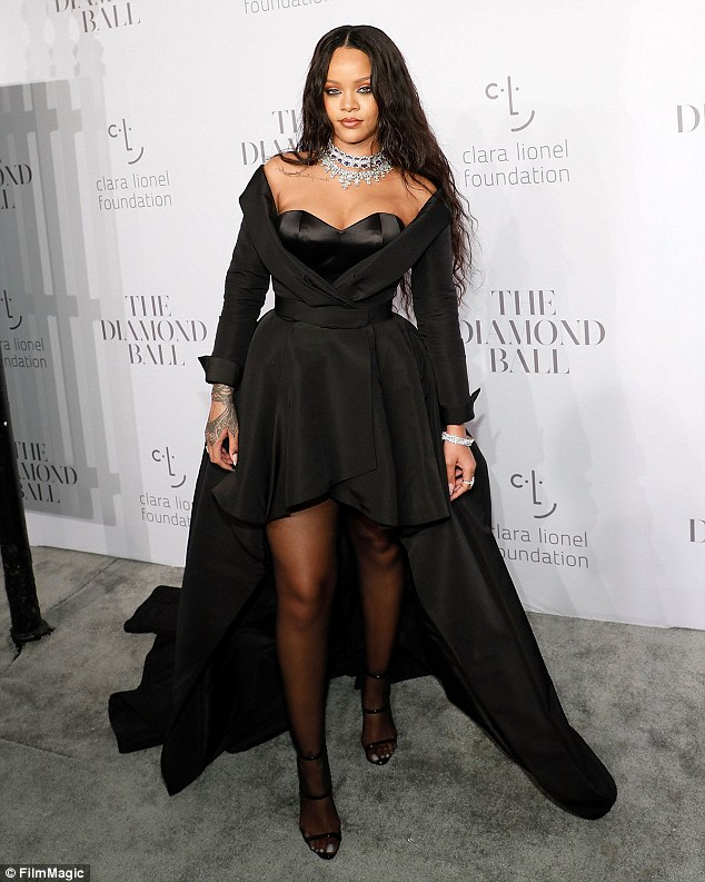 Trendsetter: Rihanna is always one to take a risk when it comes to her style choices