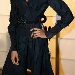 Naomie Harris lose her boots at H&M's Paris Fashion Week dinner