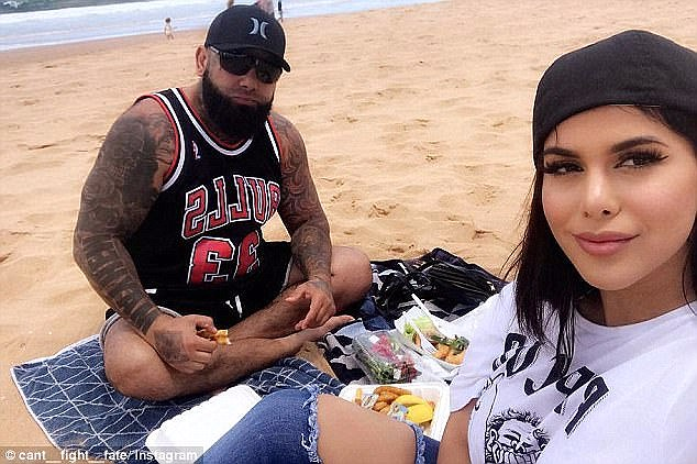 Both of their Instagram accounts were once filled with loved-up snaps together, but the pictures were removed last month after vile abuse was directed towards Ms Mehajer from Tajjour's account