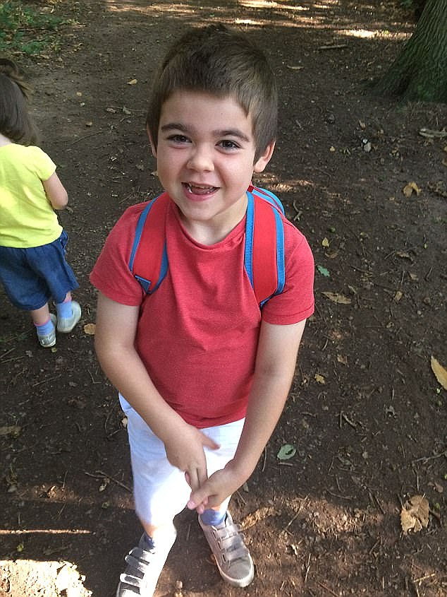 Alfie is the only boy in Britain, and one of just five in the world, to have the form of epilepsy known as PCDH19, which is caused by a genetic mutation