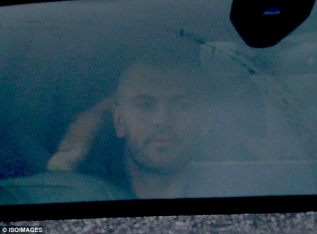 Midfielder Jack Wilshere leaving training after the Gunners lost to City again on Thursday night