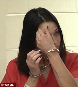 Former Florida middle school teacherStephanie Peterson Ferri, 26, made her initial court appearance on Thursday