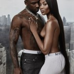 Sizzle Sizzle Sizzle ! More photos from that Naomi Campbell and Skepta GQ Shoot