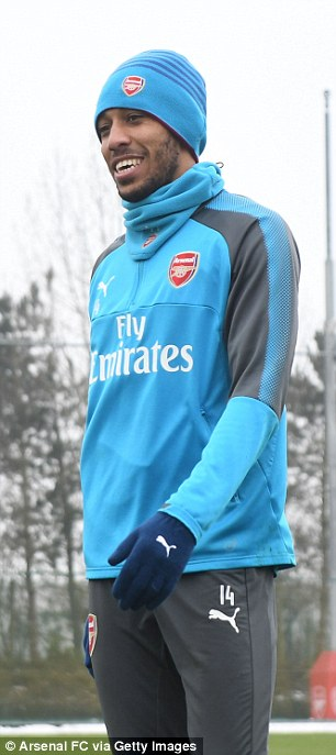 Aubameyang will be looking to score his first  Arsenal away goal in the game against Brighton