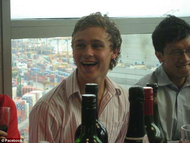 Sam Ballard (pictured) was just 19 when a silly party dare to eat a slug left him a quadriplegic
