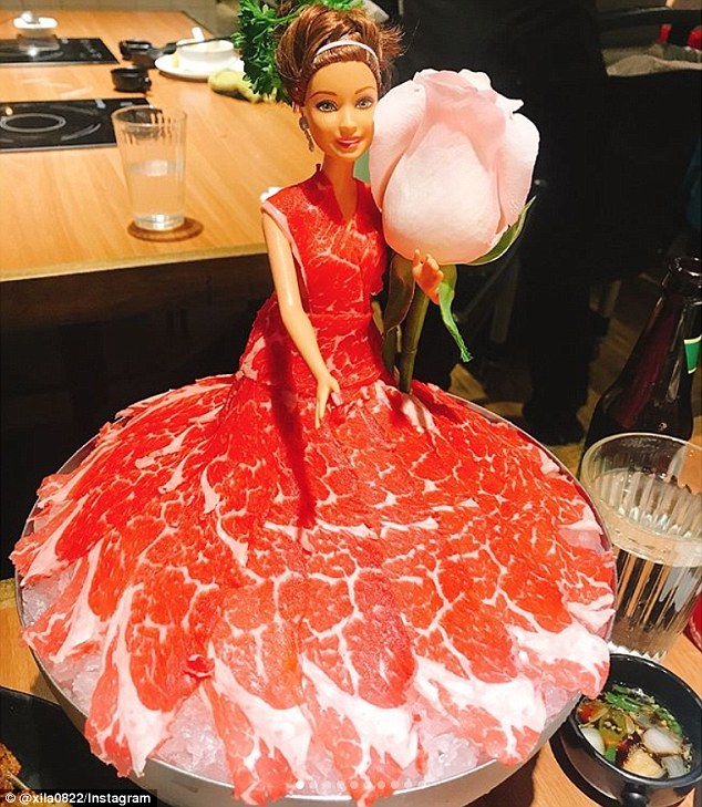 Hot Pot Restaurants Are Now Serving Barbies In Meat