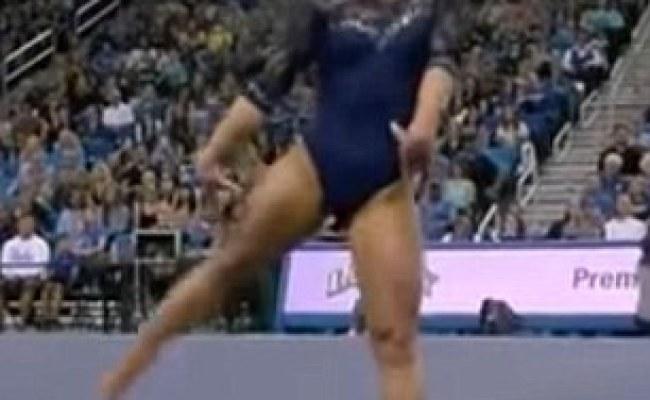 Gymnast Katelyn Ohashi Performs Incredible Michael Jackson