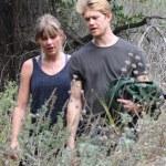 Taylor Swift and new boo,Joe Alwyn on a hike in Malibu