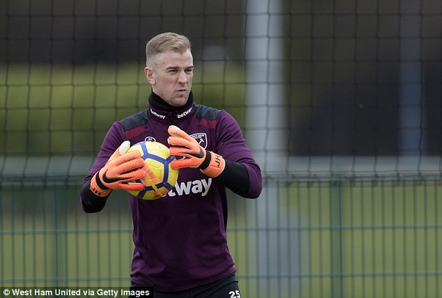 Hart has been capped 75 times by the Three Lions but his starting place appears under threat